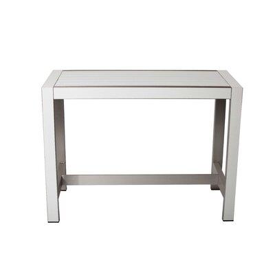 Yulganna Pub Table Color: White