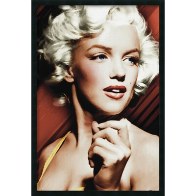Marilyn Monroe - Glamour Head Framed Photographic Print