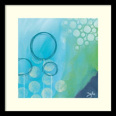 Bubble Toes Framed Painting Print