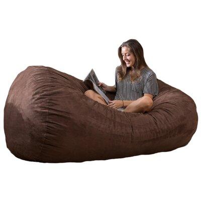 Bean Bag Sofa Upholstery: Brown