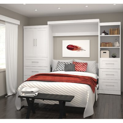 Shari Queen Murphy Bed Finish: White