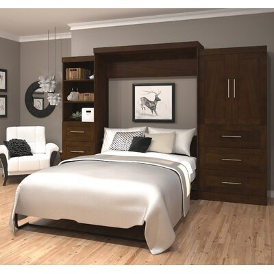 Shari Queen Murphy Bed Color: Chocolate