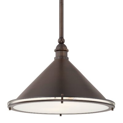 Luz 2-Light Bowl Pendant Finish: Burnished Bronze