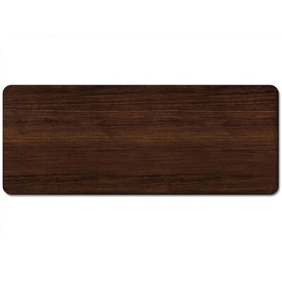 Miguel Extra Long Table Top Color: Walnut