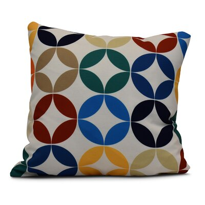Francisco Eye Opener Indoor/Outdoor Throw Pillow Size: 16 H x 16 W, Color: Green