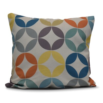 Francisco Eye Opener Indoor/Outdoor Throw Pillow Size: 16 H x 16 W, Color: Lavender