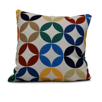 Francisco Eye Opener Throw Pillow Size: 16 H x 16 W, Color: Green
