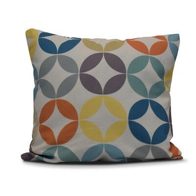 Francisco Eye Opener Throw Pillow Size: 26 H x 26 W, Color: Lavender