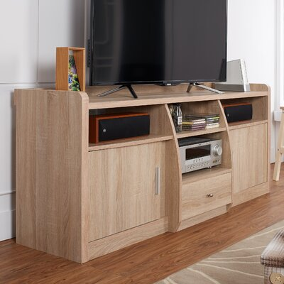 Monty 63 TV Stand Color: Natural Oak