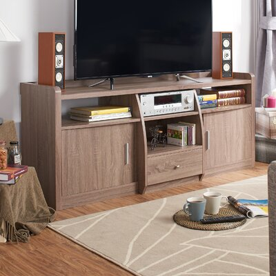 Monty 63 TV Stand Color: Chestnut Brown