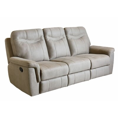 Orlando Manual Motion Reclining Sofa Upholstery: Cream