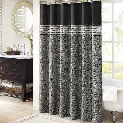 Lupe Polyester Shower Curtain
