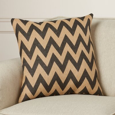 Reiter Burlap Throw Pillow