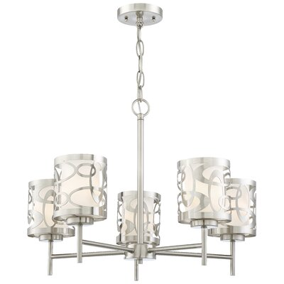 Drew 5-Light Shaded Chandelier