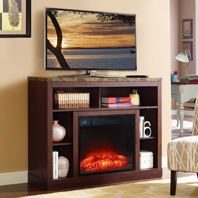 Desiree 46 TV Stand with Fireplace