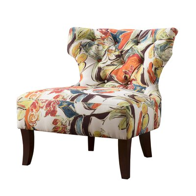 Glen Hourglass Tufted Side Chair