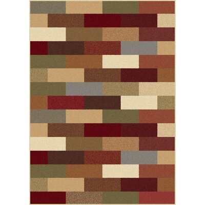 Lavalley Multi Abstract Area Rug