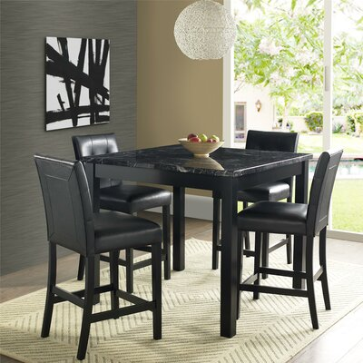 Nathaniel 5 Piece Counter Height Dining Set