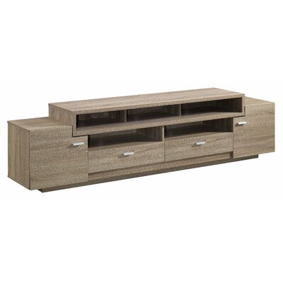Edith TV Stand Finish: Light Oak
