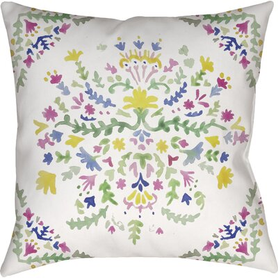 Shippenville Tiffany Indoor/Outdoor Throw Pillow Size: 20 H x 20 W x 4 D
