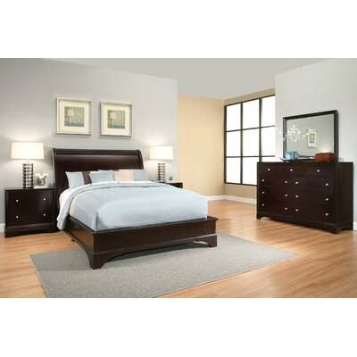 Juliana Sleigh 5 Piece Bedroom Set Size: Queen