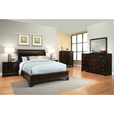 Juliana Sleigh 6 Piece Bedroom Set Size: King