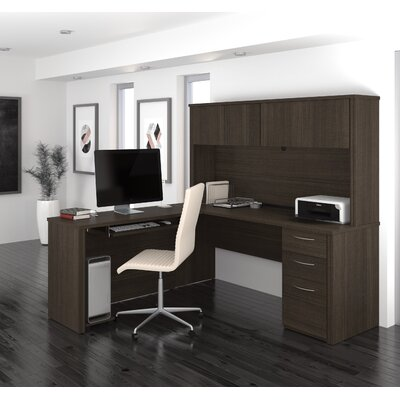 Magnificent Wood Computer Desk Hutch Product Photo