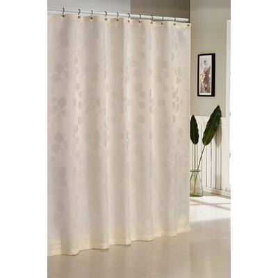 Branov Shower Curtain Color: Ivory