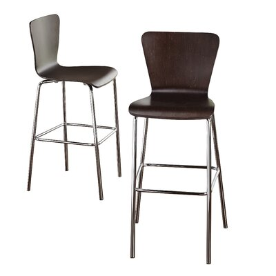 Ivan Bar Stool Finish: Espresso