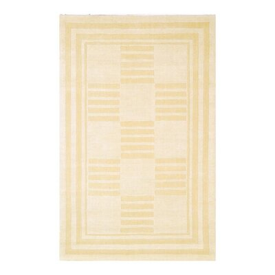 Raulston Serenity Ivory Area Rug Rug Size: Rectangle 4 x 6