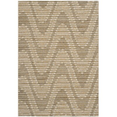 Jill Grey / Dark Grey Chevron Rug Rug Size: Rectangle 6 x 9