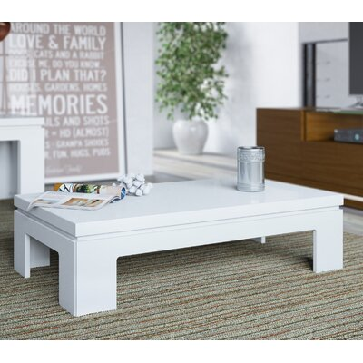 Belwood Coffee Table Finish: White Gloss