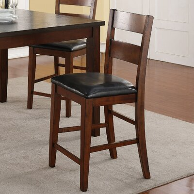Constance Genuine Leather Upholstered Dining Chair (Set of 2)