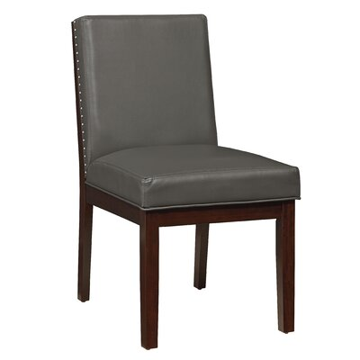 Kirby Side Chair (Set of 2) Upholstery: Gray