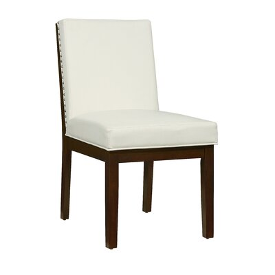 Kirby Side Chair (Set of 2) Upholstery: White