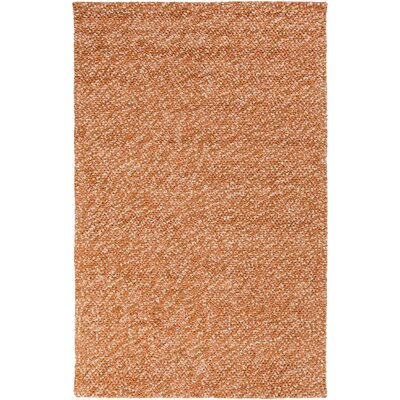 Pablo Burnt Orange/Beige Area Rug Rug Size: 5 x 8
