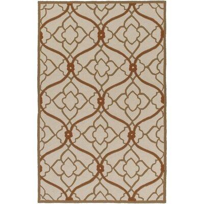 Grant Beige/Mocha Indoor/Outdoor Area Rug Rug Size: Rectangle 2 x 3