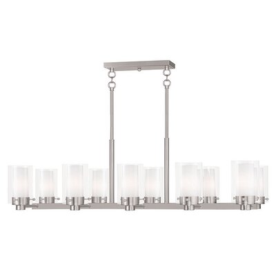 Levi 10-Light Kitchen Island Pendant