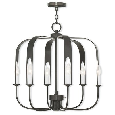 Lawrence 7-Light Foyer Pendant Finish: English Bronze