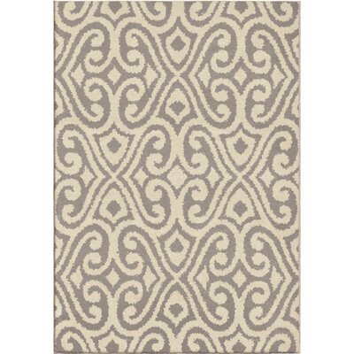 Erelina Gray/Beige Area Rug Rug Size: Rectangle 710 x 1010