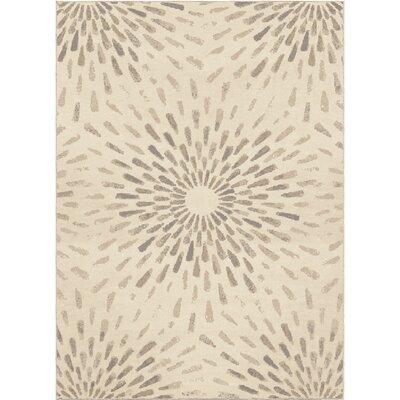 Gracie Ivory Area Rug Rug Size: 710 x 1010