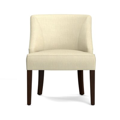 Felipe Rattan Back Side Chair Upholstery: Creamy Tan