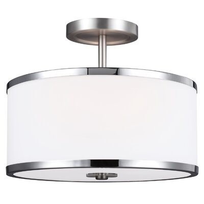 Gladys 2-Light Semi Flush Mount