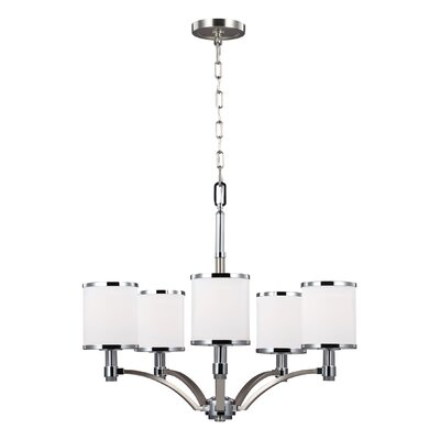 Gladys 5-Light Shaded Chandelier