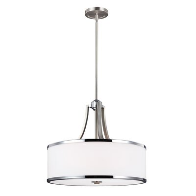 Gladys 4-Light Drum Pendant