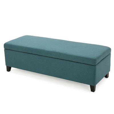 Colleen Storage Ottoman Upholstery: Dark Teal