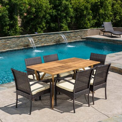 Courtney 7 Piece Dining Set