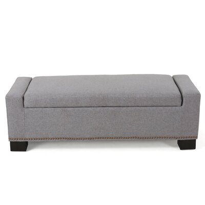 Crystal Ottoman Finish: Gray