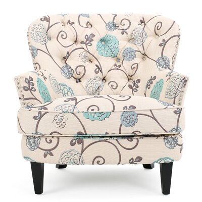Cynthia Floral Arm Chair