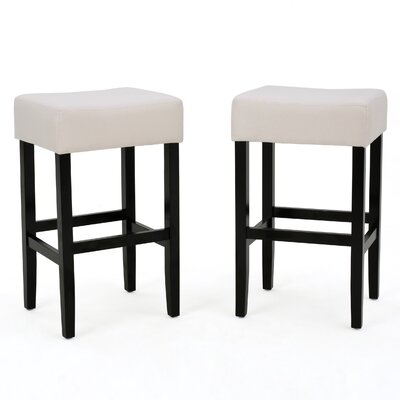 Gabriel 30 Bar Stool Upholstery Color: Light Gray